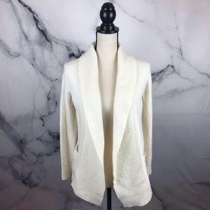 BANANA REPUBLIC open wool / cashmere cardigan